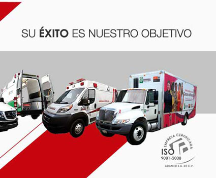 Fabricación de ambulancias mexico, Ambulancia en mexico, ambulancias mexico